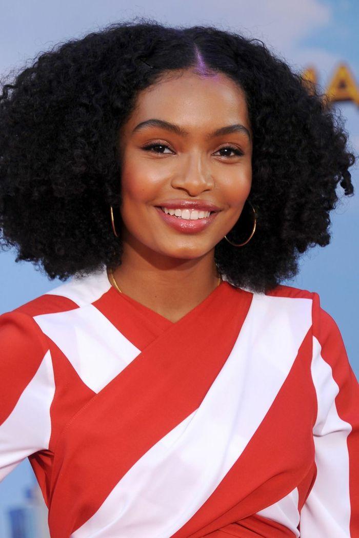 las mejores propuestas de cortes de pelo para cara ovalada pelo afro 0f0adf16a70e
