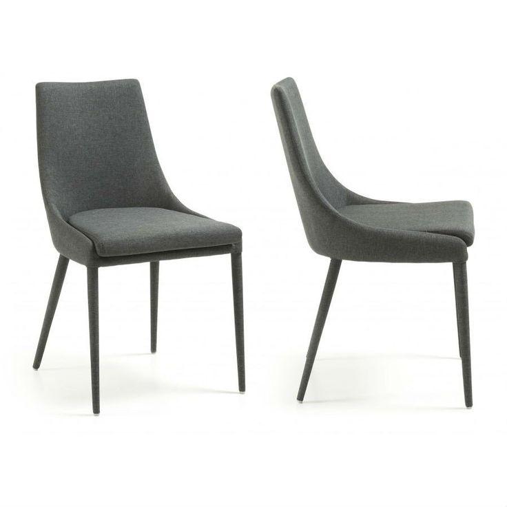 $255 Dant Dining Chair Dark Grey