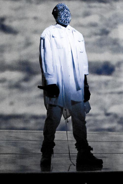 Kanye West Mask Designer : Maison Martin Margiela