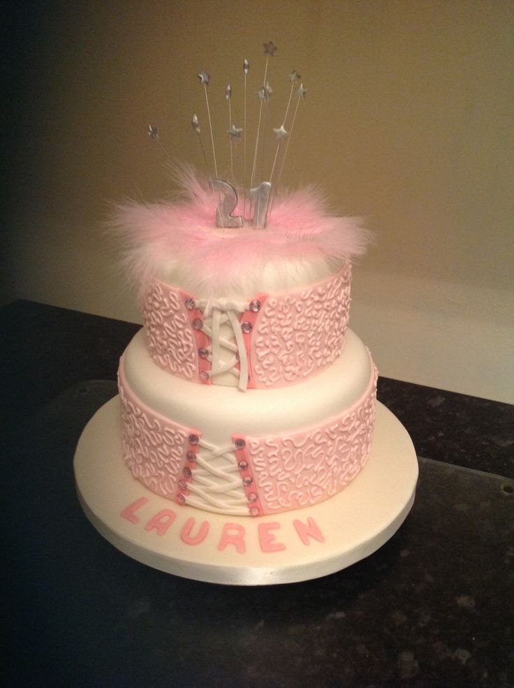 Birthday cake 21 years old