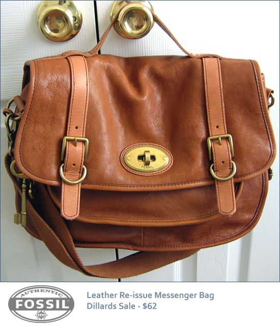 Fossil Vintage Re Issue Messenger Bag Budget Chic How To Do Fashion On A My Style If I Had One Pinterest Bags Purses And