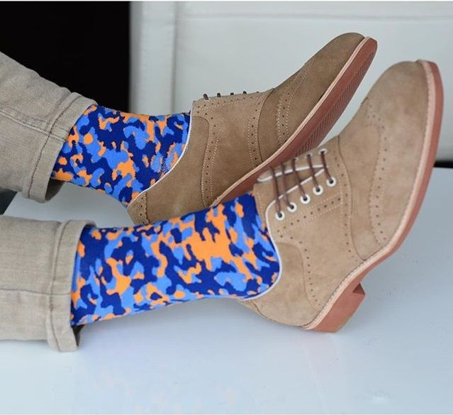 Guys is your sock game strong? Check out Soxy for these awesome and colorful camo socks
