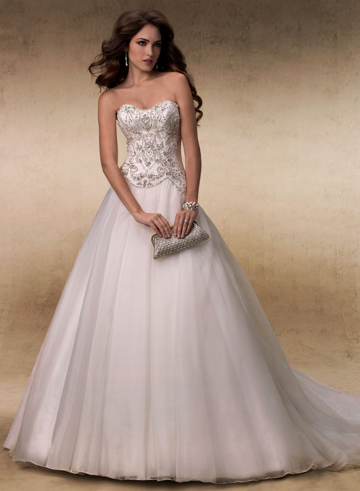 Stunning Allison Maggie Sottero Wedding Gown You may purchase this dress locally at The Bridal Suite