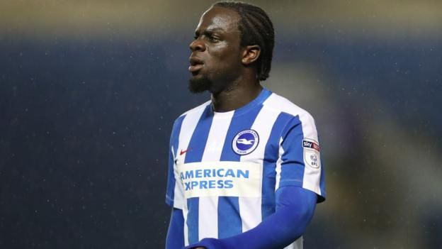 Elvis Manu: Brighton striker joins Dutch side Go Ahead Eagles on loan