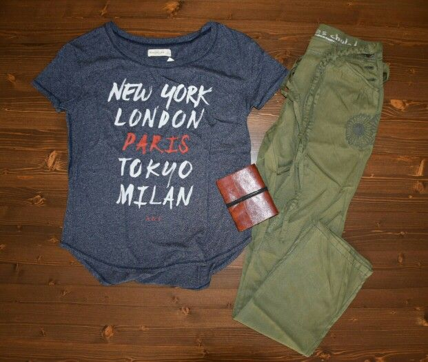 Abercrombie t-shirt desigual pant #abercrombie #tshirt #desigual #pants #woman #style #streetwear #fashion #girly #golook #instashoes #shoesoftheday #summertime #saldi #sale #italy #it #umbostore #cool #newyork #london #paris #milano