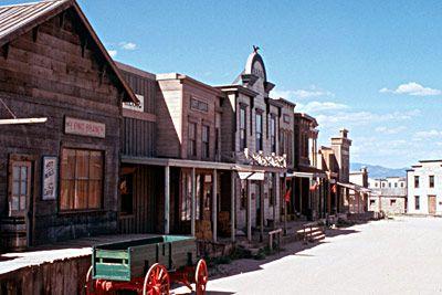 Eaves movie ranch outside of Santa Fe.