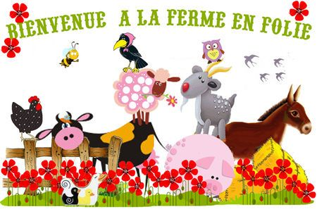 FERME : étiquettes, bannières, ronds de serviettes, invitations..... une mine de choses à imprimer avec animaux, tracteurs, fermière...