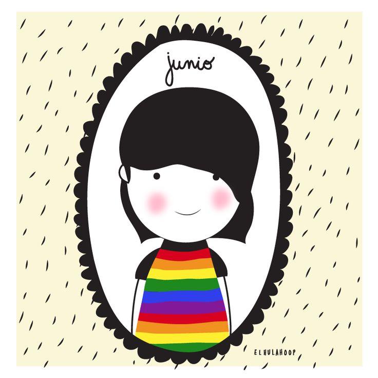 #junio #june # LGBT #ilustracion