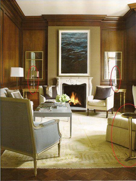 Atlanta Homes & Lifestyles    Global Views French Moderne Table