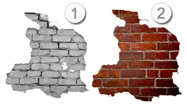 Adesivi murali - Adesivi Murali Effetto Muro di Mattoni - un prodotto unico di Wall-Decals su DaWanda