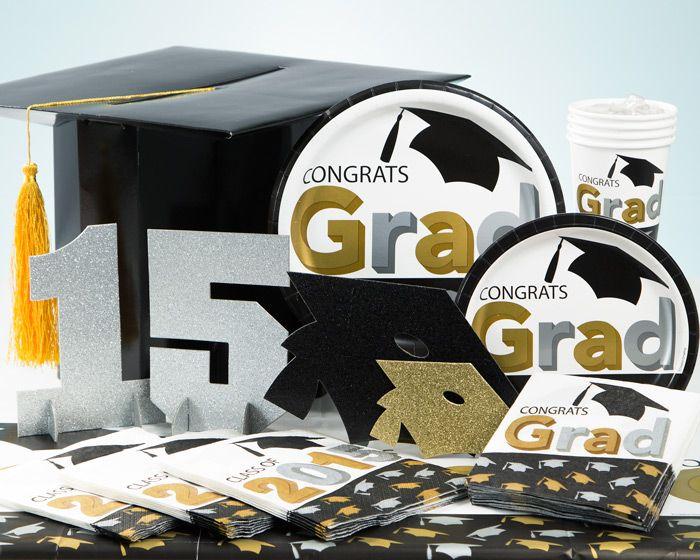 Graduation Cap Party Supplies and Decorations - PartyPail
