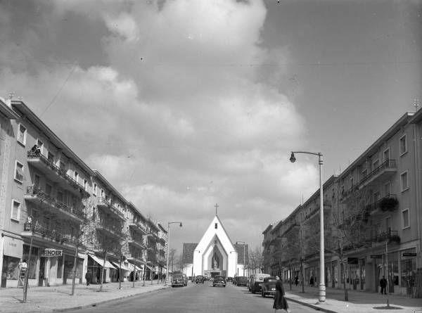 AAvenida da Igreja, entre 1952 a 1959 (Foto: António Passaporte, Arquivo Municipal de Lisboa)