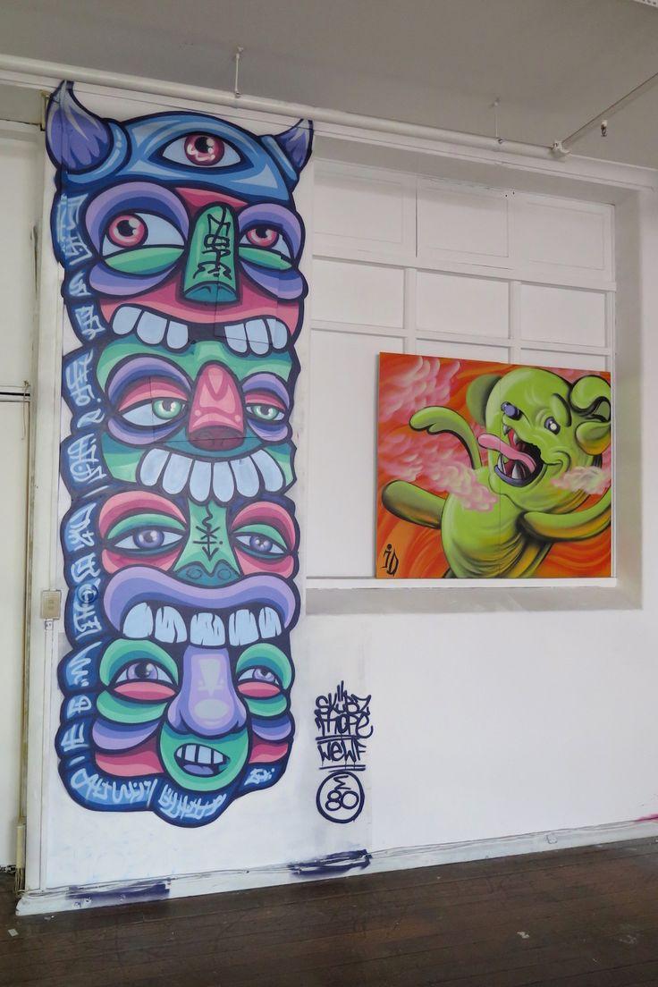 Graffiti art ideas - Paterson Project Part 1 Land Of Sunshine Land Of Sunshine Street Graffitistreet Artart