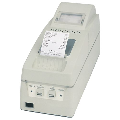 80mm/sec. printing speed 	Addressable two-colour thermal printing (with special paper) 	2 Station receipt and Journal 	interface options: Serial & Parallel 	Barcode printing capable 	ESC/POS Compatible 	Auto Paper loading 	Auto cutter on Receipt   ?   	 		 			 			Paper