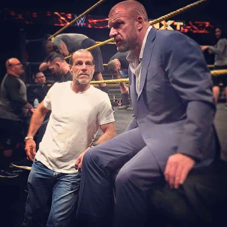 DX is back! Check out new photos of Triple H & HBK (With