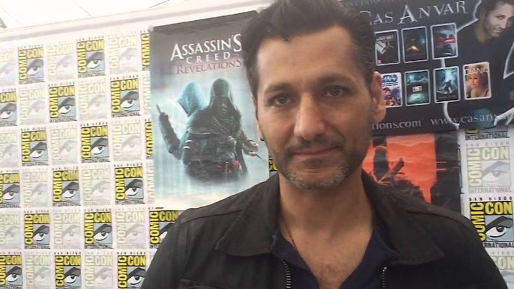 San Diego Comic Con 2014 - Interview with Cas Anvar