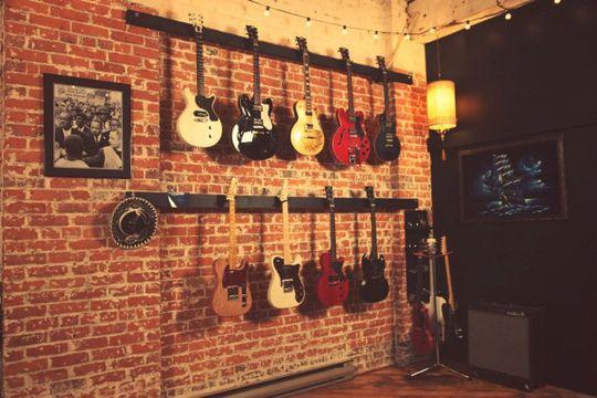 Guitar Music Room Design