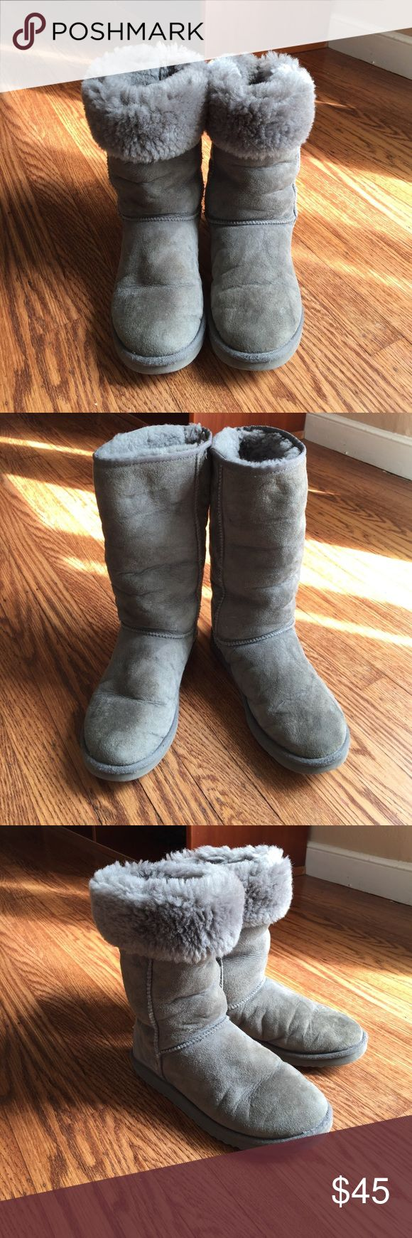 UGG Classic Tall Boots in Gray Classic Tall Boots in Gray. No box. Size 8 UGG Shoes Winter & Rain Boots
