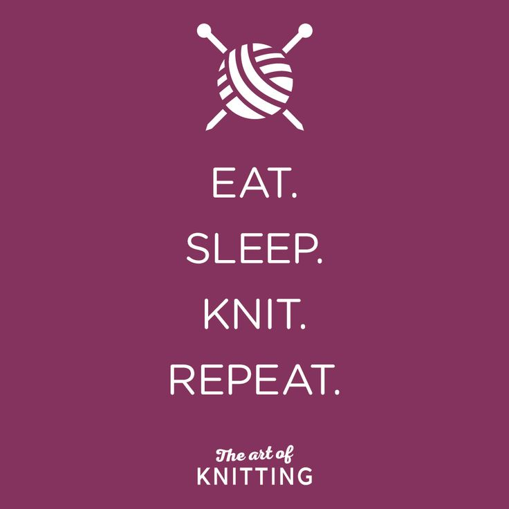 #routine #knit #knitting #mantra