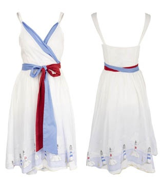 Joules A good year lighthouse dress. -- I'm obsessed with this