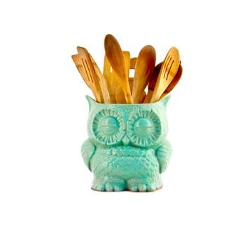 Fab.com | Owl Planter Small Mint