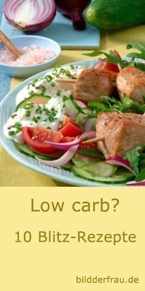 40 tolle Low Carb-Rezepte zum Abnehmen und Genießen
