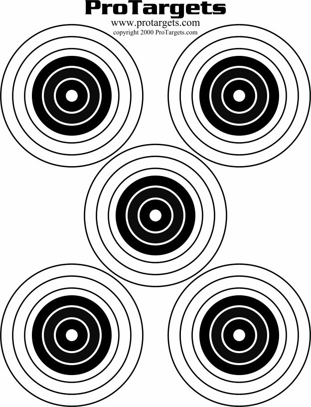 It is an image of Massif Shooting Target Pdf