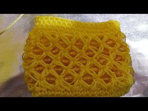 Monedero Tejido a Crochet paso a paso/ La Luna Del Crochet - YouTube
