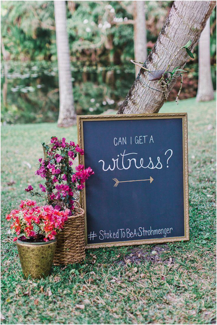 Vintage Sign - Bonnet House Wedding Styling - The ALTARnative www.chelseaerwin.com #vintagesign #canigetawitness #florals #vinatgeflorida #bonnethouse