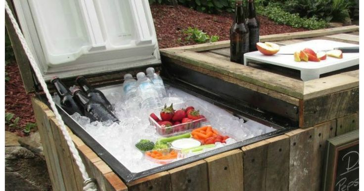 DIY Old Fridge Ideas And Projects, Cooler From Broken Refrigerator | Handy & Homemade