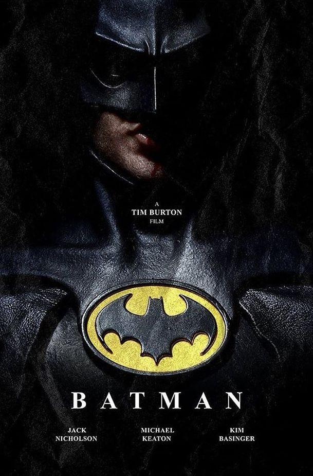 Batman 1989 By Brian Lenning In 2020 Batman Comics Batman Film Batman Poster