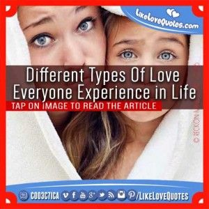 Different Types Of Love Everyone Experience in Life