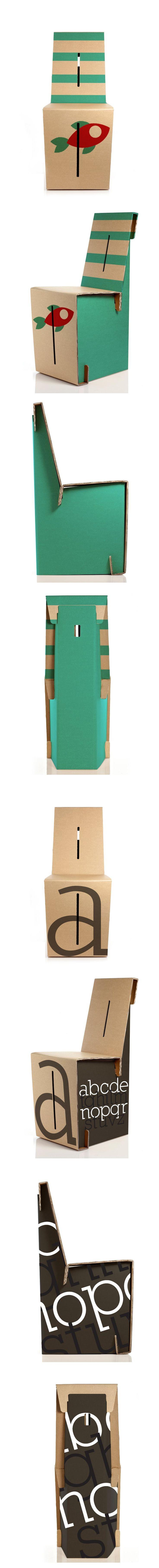 Marianna Guerra #cherryfish #abc #chairplus #contest #kshop #ecodesign #cardboard #style