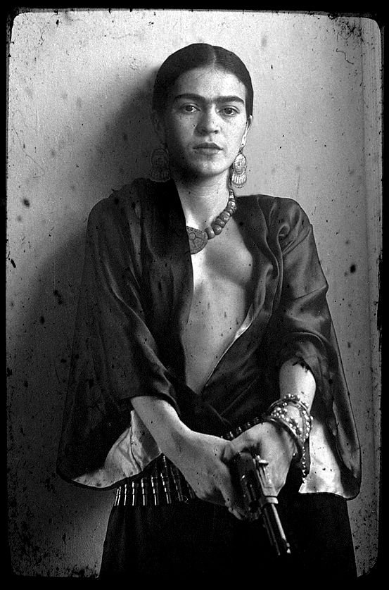 """I drank because I wanted to drown my sorrows, but now the damn things have learned to swim"" -Frida Kahlo"