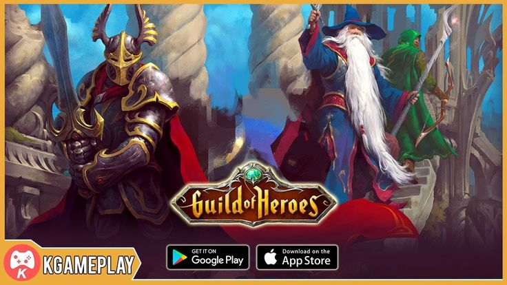 Guild of heroes gameplay fantasy mmorpg ios android