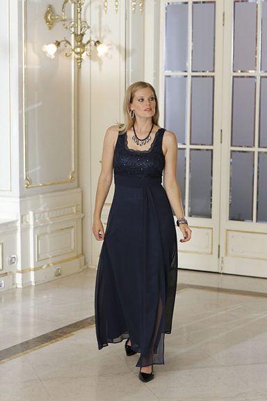 sheego Style Abendkleid mit Spitze