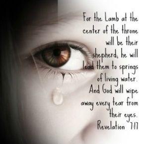 Revelation 7:17 The God Who Weeps...