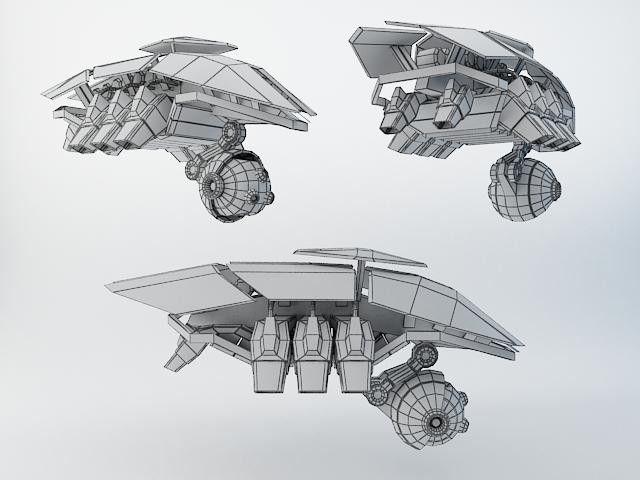 Futuristic Characters 3D Models | Robot SXZ200 | AlexRazum - 3D Squirrel