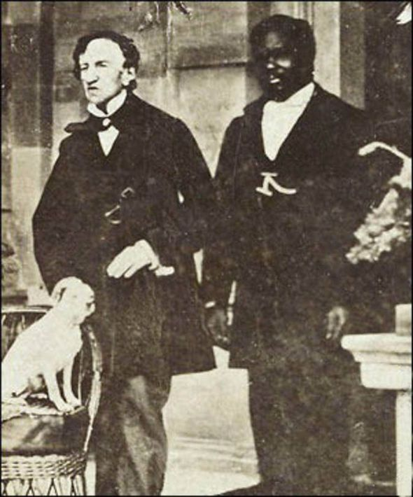 Dr James Barry (left), physician in his Majesty's army, and woman.