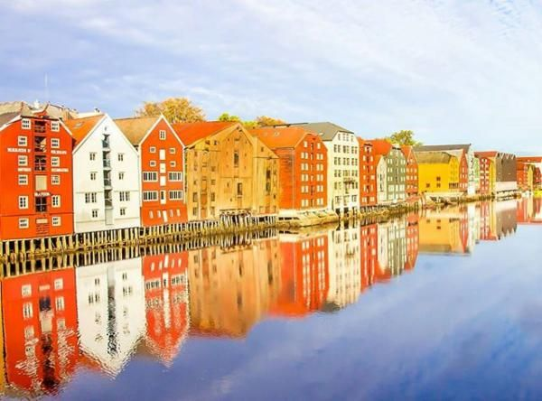 Trondheim, Norway via @heartsmybackpack