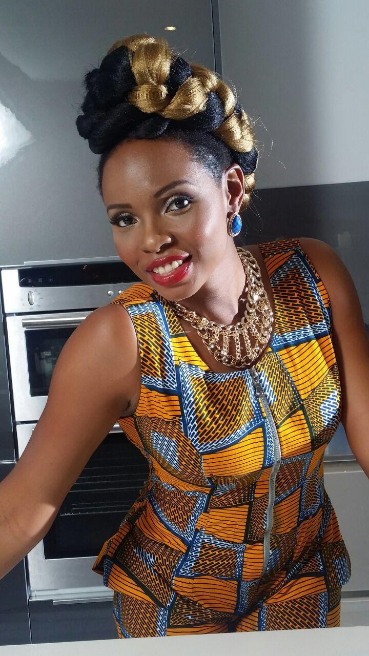 Chika ike chika ike shows off her new look diamond celebrities - Yemi Alade
