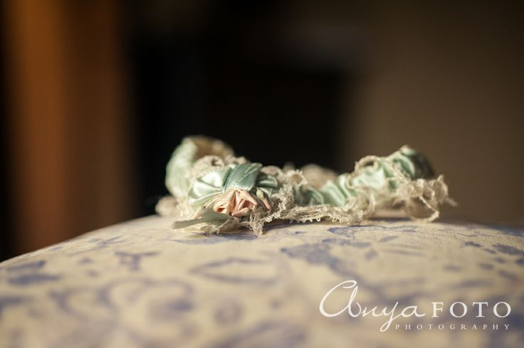 anyafoto.com, #wedding, wedding garters, bridal garters, ribbon wedding garters, green ribbon wedding garters, #somethingborrowed