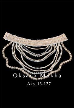 Biżuteria — Oksana Mucha | wyjątkowe weselne i wieczorowe ubrania. Indywidualne podejście. Jakościowe Europejskie tkanki. Ręczne dekorowanie