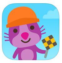 Sago Mini Vrachtwagens en graafmachines. nieuwe app!