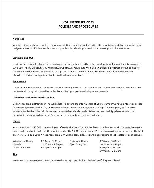 Training Manual Templates 15 Free Printable Word Pdf Manual