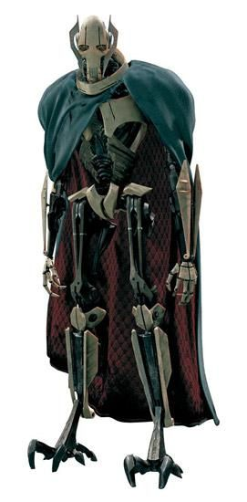 General Grievous, one of my favorite Star Wars villains.