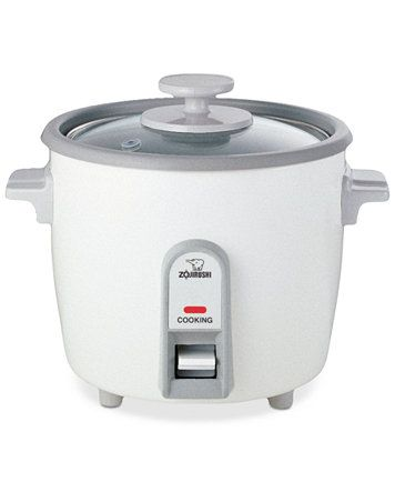 Zojirushi NHS-06 Rice Cooker, 3 Cup Steamer | macys.com