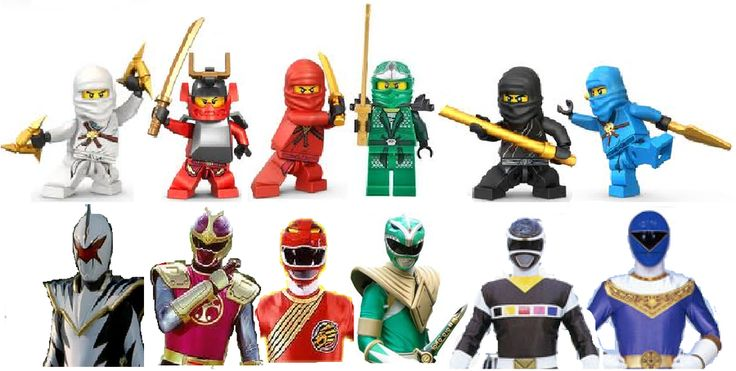 Power rangers and lego cade 39 s room pinterest lego power rangers and ranger - Ninjago vs ninjago ...