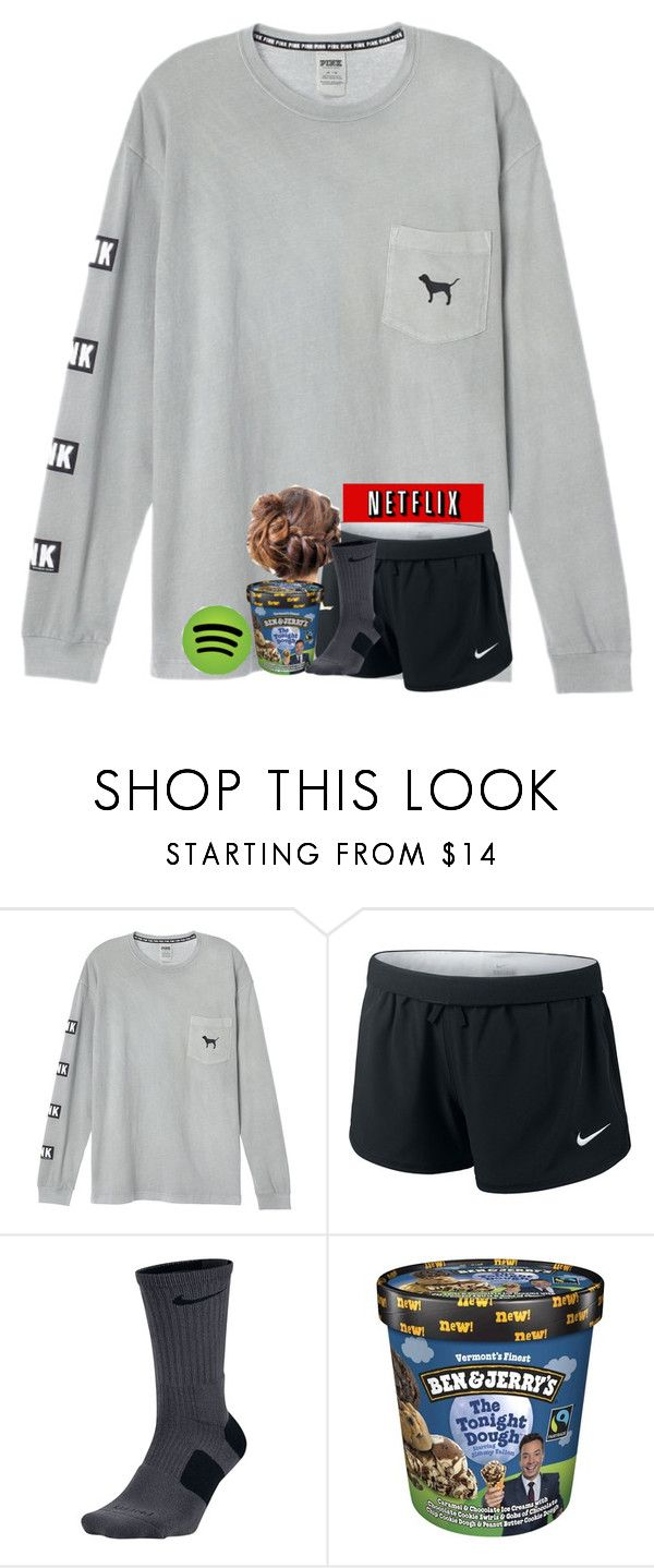 """relaxing "" by shenry2016 ❤ liked on Polyvore featuring NIKE"