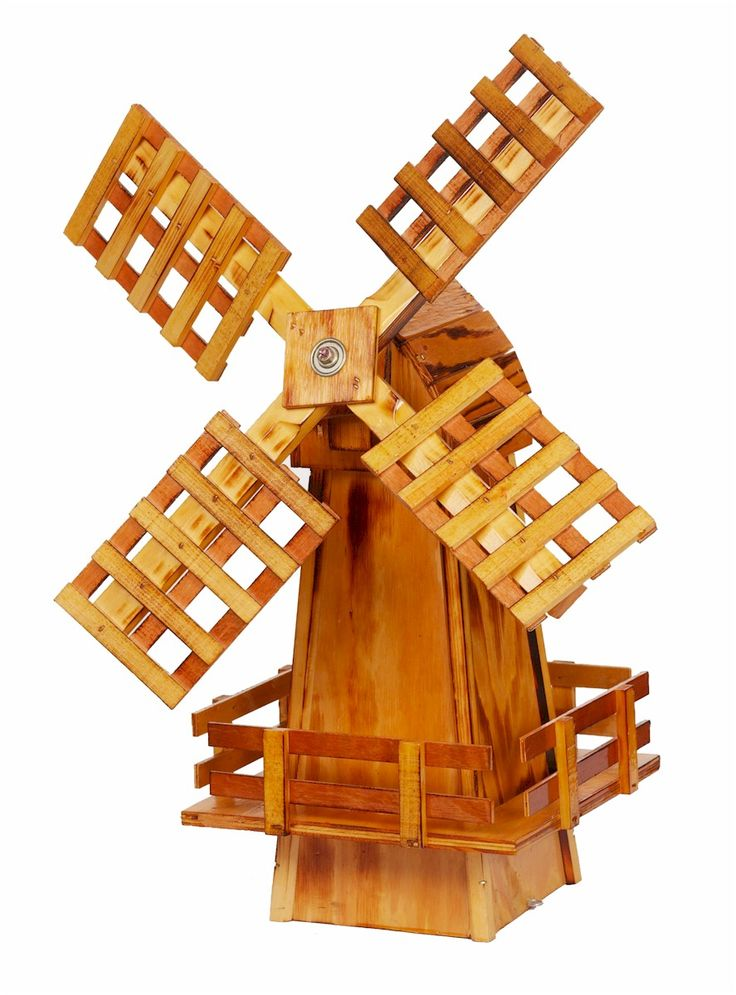 Wooden Windmills Decorative Lawn Windmill - Amishshop.com